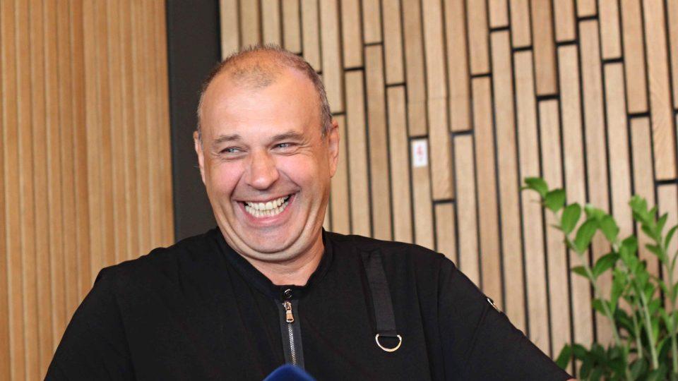 Petr Rychlý u Terezy Kostkové v Radiocafé Vinohradská 12
