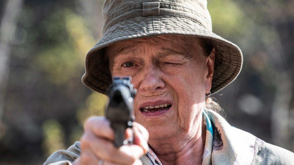 Iva Janžurová ve filmu Teroristka