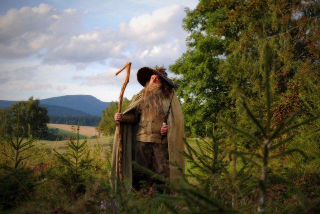 Krakonoš je pověstný vládce Krkonoš | foto: Viktor Kuna