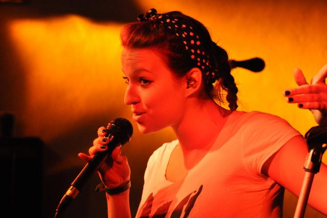 Berenika Kohoutová na koncertě