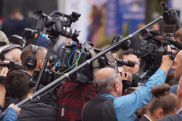 kameraman, fotograf, média