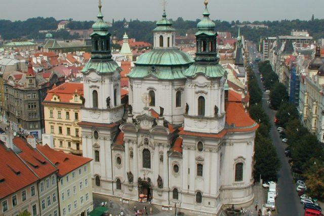 Kostel sv. Mikuláše v Praze | foto: Jana Šustová,  Český rozhlas