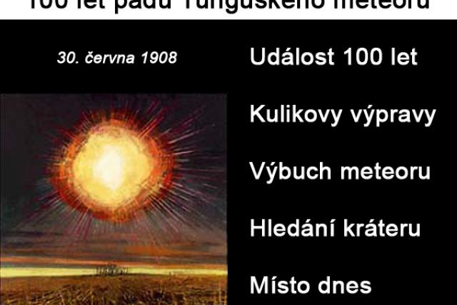 100 let pádu Tunguského meteoru
