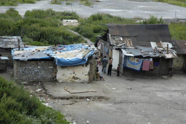 Romská osada Pätoracké v Rudňanech
