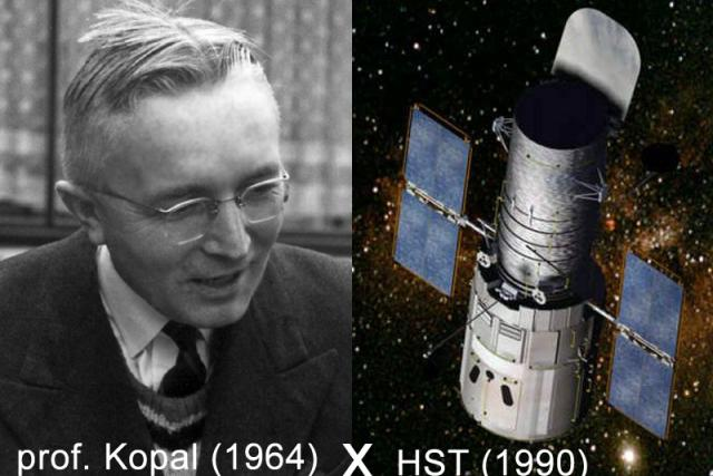 Prof. Zdeněk Kopal vypráví o prvním vesmírném dalekohledu