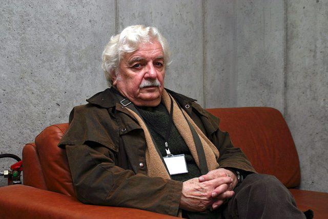 Ladislav Smoljak zemřel před pěti lety 6. června 2010   foto: Petra Čechová