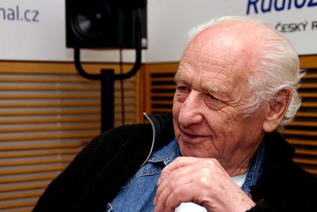 Spisovatel Arnošt Lustig | foto: Alžběta Švarcová,  Český rozhlas