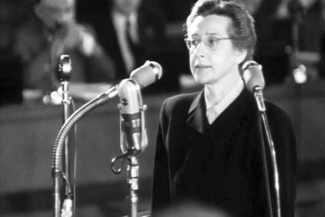Milada Horáková před státním soudem