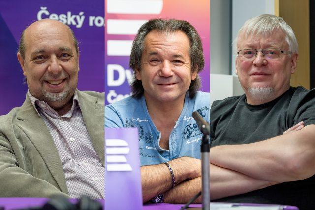 Tomáš Kraus, Andor Šándor a Pavel Kosatík ve speciálu pořadu Jak to vidí... k 75. výročí konce války