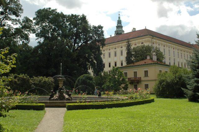 Pohled na Arcibiskupský zámek v Kroměříži | foto: Ivana Filipová