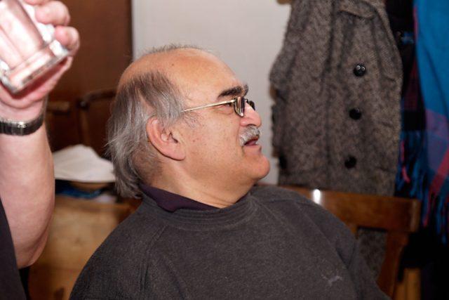 Ladislav Gerendáš - v šatně
