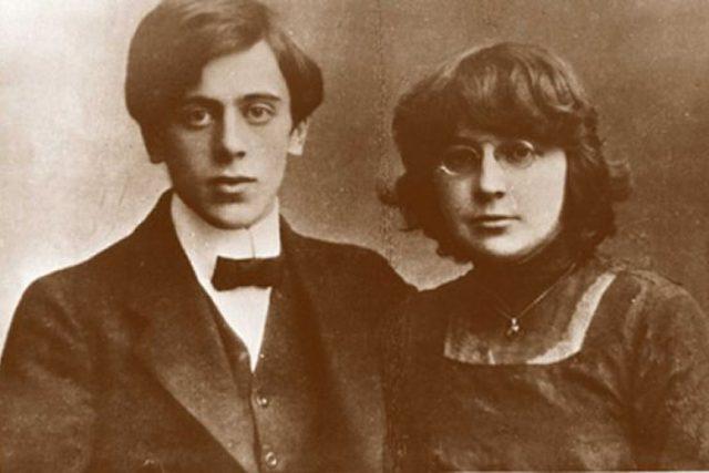 Marina Cvetajevová s manželem