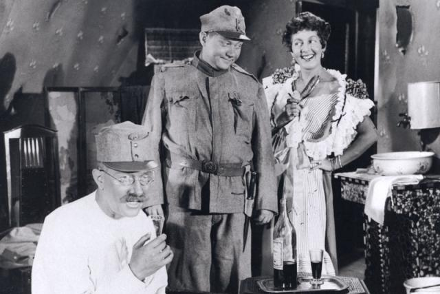 Rudolf Hrušínský jako dobrý voják Švejk
