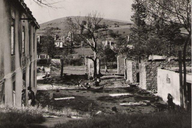 Vyhlazená obec Ležáky, nejviditelnejší výsledek pardubického gestapa