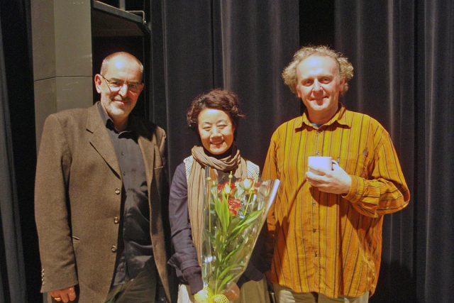 Ivo Šmoldas,  Feng-yün Song a Jaroslav Dušek | foto: Markéta Košťáková