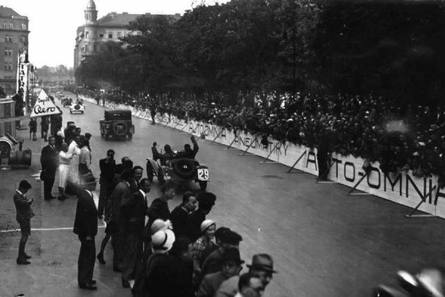 Závod 1000 mil Československých-1935