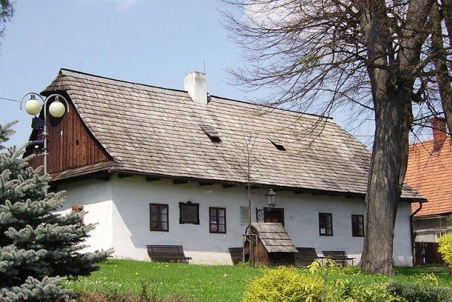 Rodný dům Františka Palackého v Hodslavicích | foto: licence Creative Commons Attribution-ShareAlike 3.0 Unported,  Tedmek .