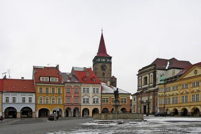 Valdštejnovo náměstí v Jičíně | foto: Licence GNU,  David Paloch
