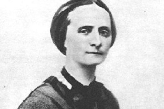Božena Němcová v roce 1860