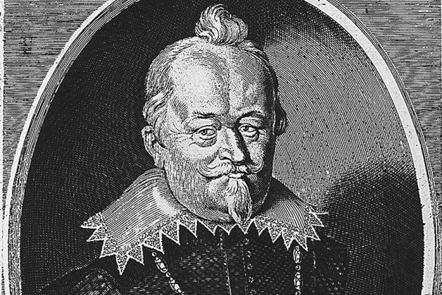 Vilém Slavata. Mědirytina Wolfganga Kiliana ze 17. století.