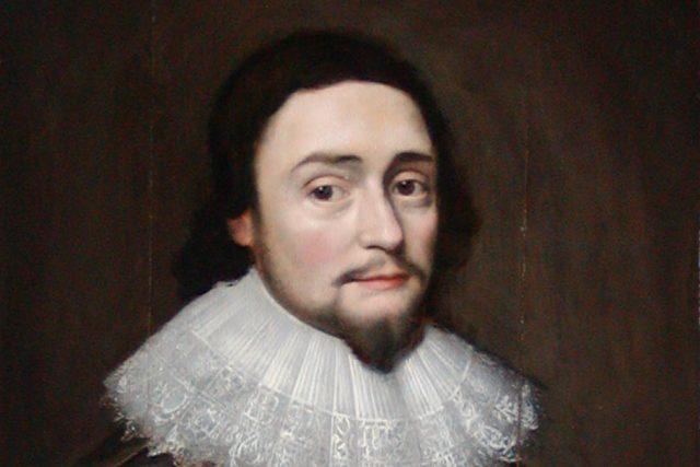 Fridrich Falcký - výřez podobizny od Michiela van Mierevelda   foto: Wikipedia,  public domain - volné dílo,  Portrætsamlingen på Frederiksborg Slot