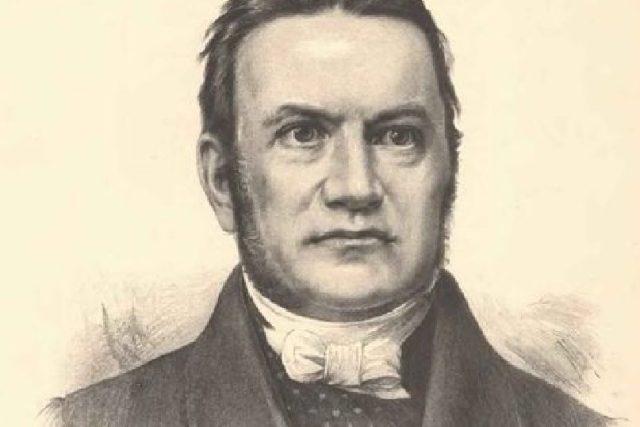 Pavel Josef Šafařík na portrétu Jana Vilímka   foto: Wikimedia,  public domain
