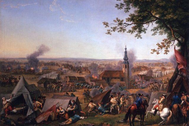 Útok na pruský tábor v Hochkirchu | foto: The World of Habsburgs