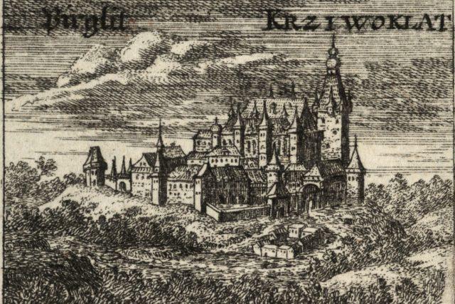 Václav Hollar: Hrad Křivoklát | foto: Wikipedia,  public domain - volné dílo,  University of Toronto