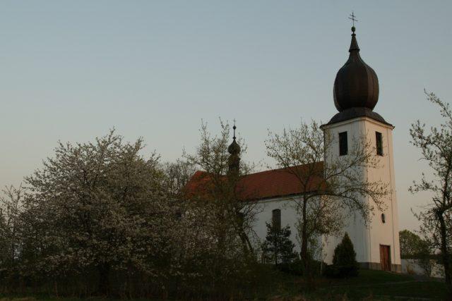 Kostel Povýšení sv. Kříže v Rožmitále | foto: Vladimír Žežula