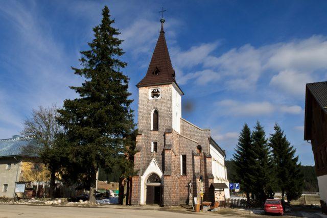 Kostel svatého Štěpána - Kvilda - Šumava | foto: Khalil Baalbaki,  Český rozhlas