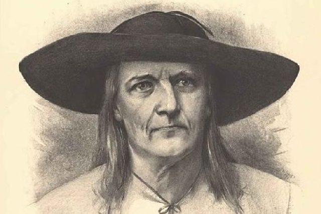 Jan Sladký Kozina na portrétu Jana Vilímka | foto: Wikipedia,  public domain - volné dílo