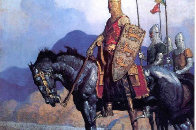 Kníže Mojmír na Velké Moravě | foto: Wikipedia,  public domain - volné dílo