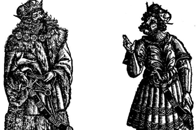 Lech a Čech dřevoryt z Kroniky Matěje Miechowita  (uživatel Niki K) | foto: Wikipedia,  public domain - volné dílo