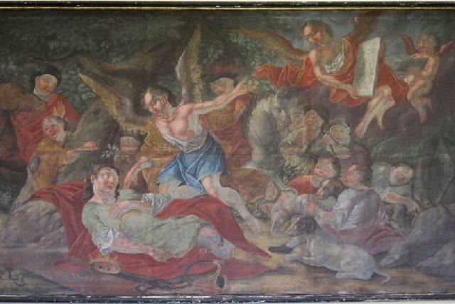Vladislavův sen - malba v kladrubském klášteře | foto: Wikipedia,  public domain - volné dílo