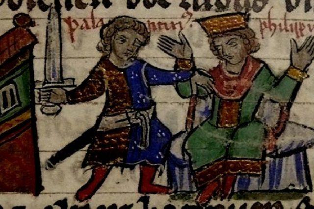 Vražda Filipa Švábského v Bamberku   foto: licence Public Domain,  volné dílo,  Acoma,  Wikimedia Commons
