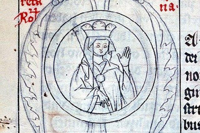 Markéta Babenberská na díle neznámého autora z Zwettlu | foto: Wikipedia,  public domain - volné dílo
