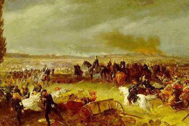 Georg Bleibtreu: Bitva u Hradce Králové | foto: Wikipedia,  public domain - volné dílo