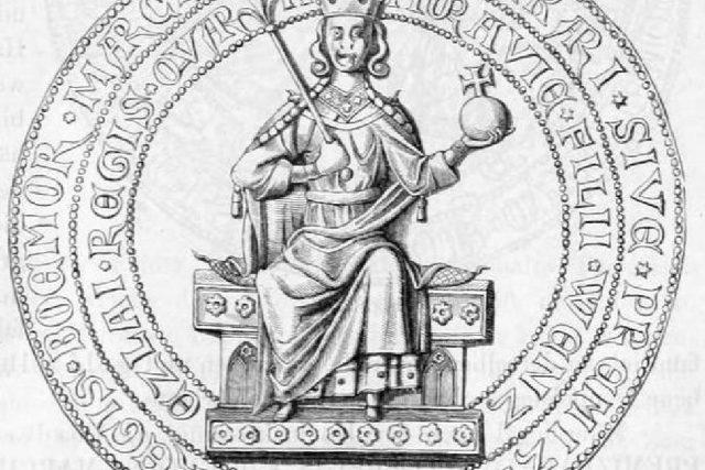 Přemysl Otakar II. | foto: licence Public Domain,  volné dílo,  Acoma,  Wikimedia Commons