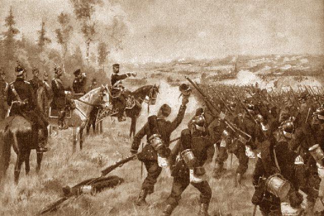 Bitva u Hradce Králové | foto: Wikipedia,  public domain - volné dílo