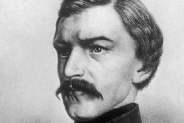 Portrét Karla Havlíčka Borovského   foto: Wikipedia,  public domain - volné dílo