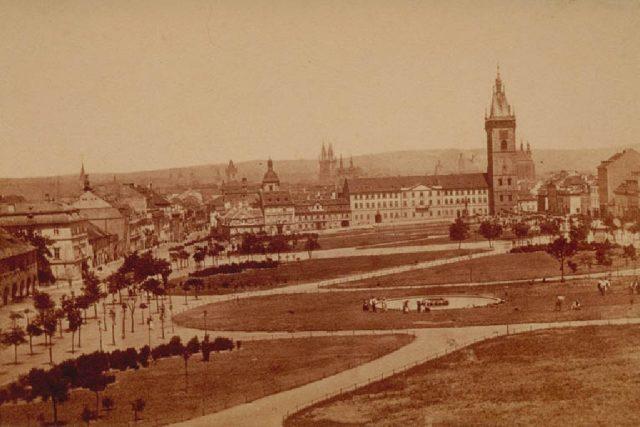 František Fridrich: Praha,  dnešní Karlovo náměstí | foto: Wikipedia,  public domain - volné dílo