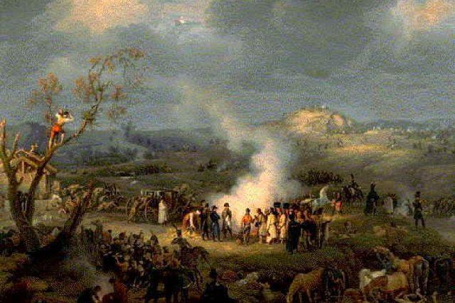 Louis-Francois Lejeune: Bitva u Slavkova | foto: Wikipedia,  public domain - volné dílo