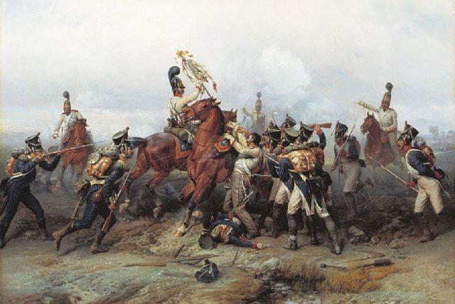 Bogdan Villewalde: Bitva u Slavkova   foto: Wikipedia,  public domain - volné dílo
