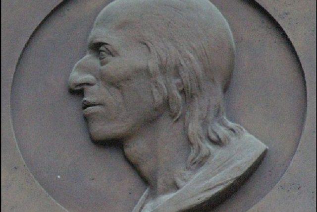 Pamětní deska Bernarda Bolzana | foto: Matěj Baťha,  licence Creative Commons 2, 5 Generic