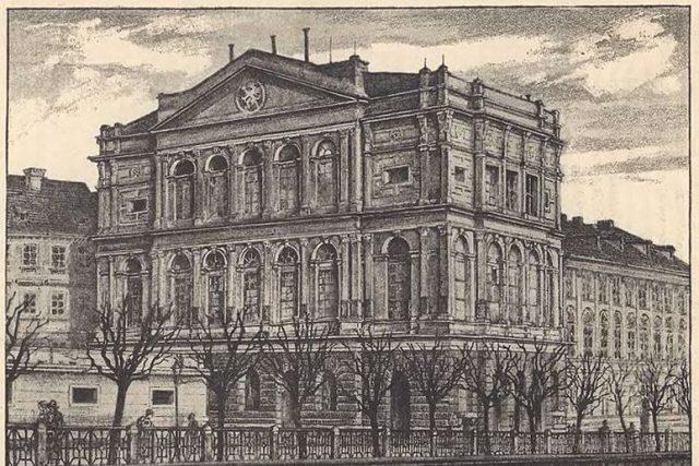 Bohumil Roubalík: Prozatímní divadlo | foto: Wikipedia,  public domain - volné dílo