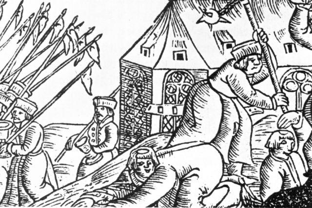 Husitské vraždění | foto: Wikimedia Commons,  CC0 1.0