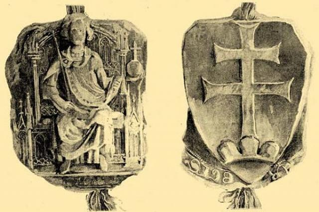 Pečeť Václava III.  (Uhry)   foto: Wikipedia,  public domain - volné dílo