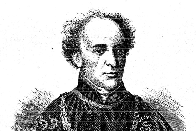 Josef Scheiwl: Karel Chotek v roce 1869