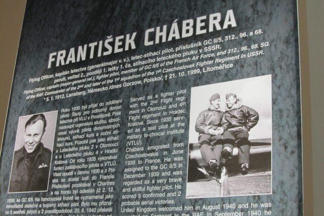 V muzeu je Františku Cháberovi vyčleněn dostatečný prostor   foto: Michal Trnka,  Český rozhlas