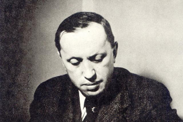 Třicetiletý Karel Čapek na fotografii neznámého autora